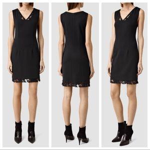 NWT Allsaints Kronta Dress in Black
